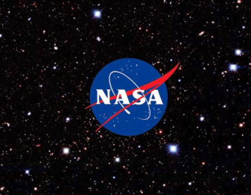 nasa logo in stars