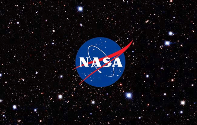 nasa logo in stars