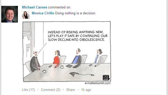 example of an occupational humor graphic