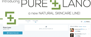 pure lano twitter profile