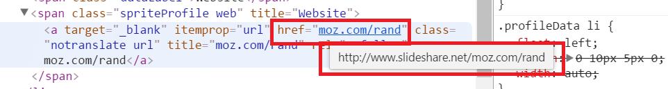 slideshare broken link code