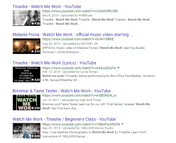 YouTube Live and Google Search Results - Joe Youngblood